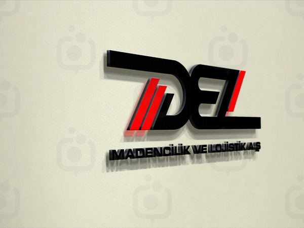Logo mockup wall display 1 1