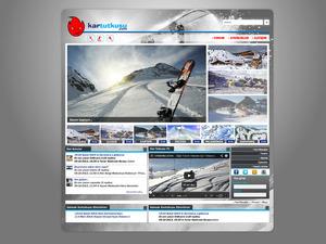 Proje#21299 - e-ticaret / Dijital Platform / Blog, Spor / Hobi Ana Sayfa Tasarımı   #29