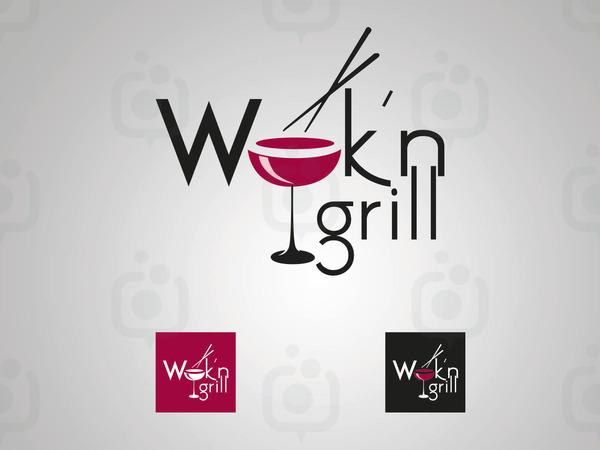 Wok n logo