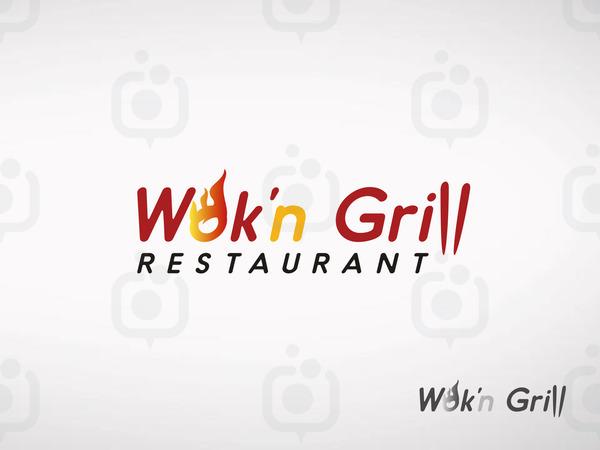 Wokn grill antistax logo