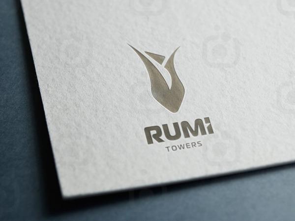 Rum  towers logoytpe sunum 1