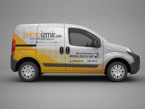 Proje#22115 - Bilişim / Yazılım / Teknoloji Araç Üstü Grafik Tasarımı  #16