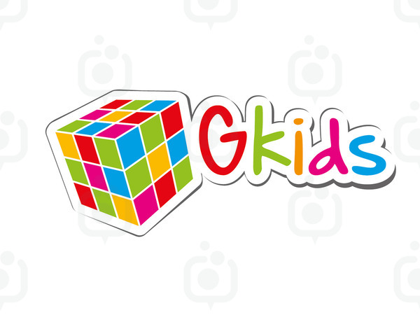 G kids logo shadow