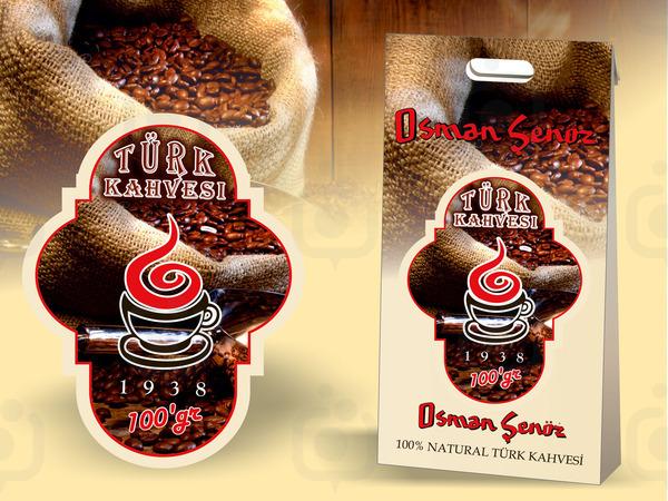 Kahve etiketi 4