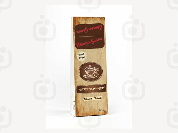 Kahve etiket1