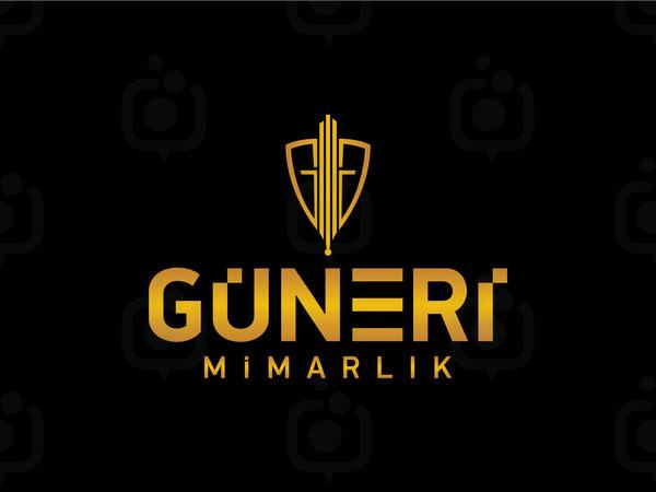 Guneri mimarlik logo