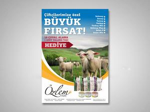 Proje#22549 - Tarım / Ziraat / Hayvancılık Afiş - Poster Tasarımı  #19