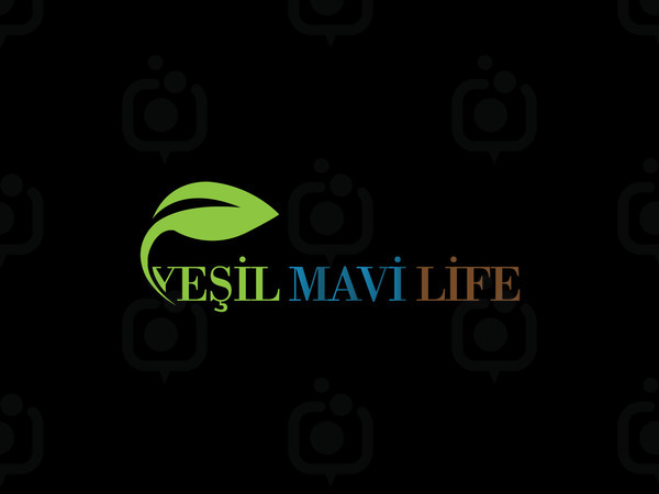 Ye il mavi life logo
