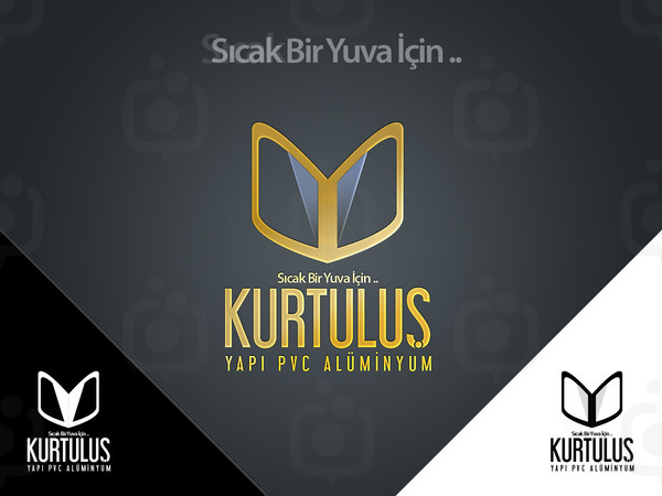 Kurtulu  yap  pvc logo  al  mas