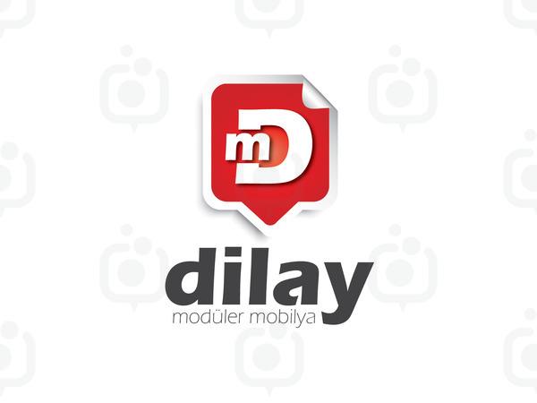 Dilay mobilya logo tasar m  01