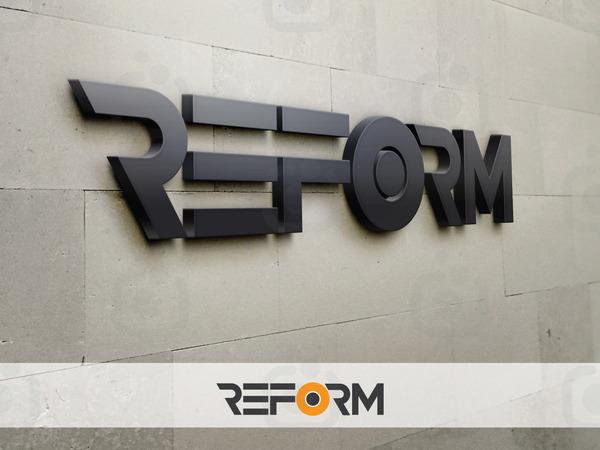 Reformlogo3d