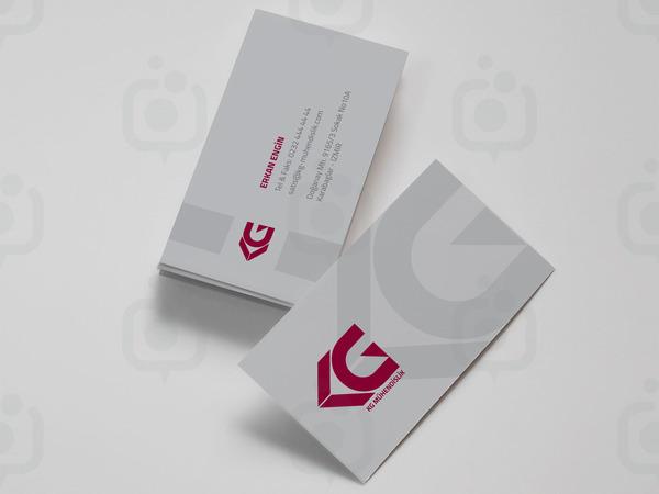 Kg logo ve kartvizit