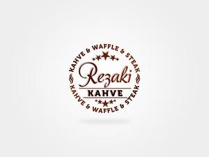 Rezaki kahve logo