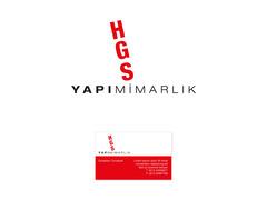 HGS YAPI - İnşaat / Yapı / Emlak Danışmanlığı Seçim garantili logo ve kartvizit tasarımı  #3