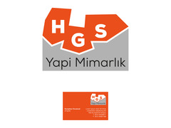 HGS YAPI - İnşaat / Yapı / Emlak Danışmanlığı Seçim garantili logo ve kartvizit tasarımı  #4