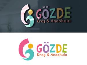 GÖZDE KREŞ  LOGO & AMBLEM ÇALIŞMASI projesini kazanan tasarım