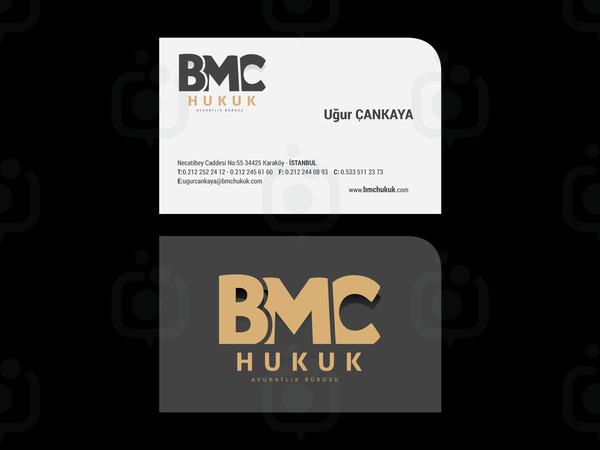 Bmc hukuk logo kartvizit
