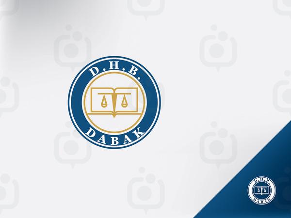 Dabak hukuk logo 6