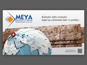 Meya madencilik ve mermer billboard by fldizayn