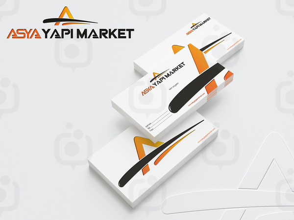 Asya yapimarket kartvizit  rnek 1