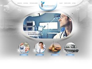 Proje#23435 - Kişisel Bakım / Kozmetik, Sağlık, Turizm / Otelcilik Web Sitesi Tasarımı (psd)  #31