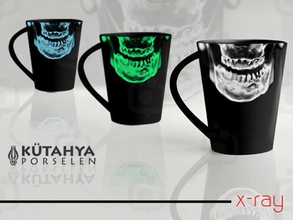 X ray mug
