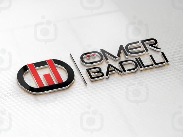 3d logo mockup c