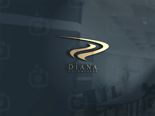 Diana kuyumculuk logo