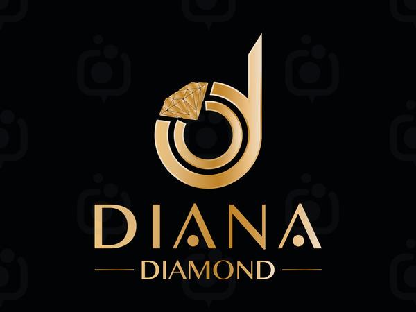 Diana diamond logo4