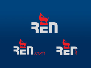 Ren logo mock up12