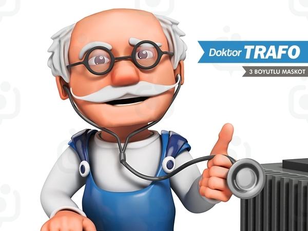 Doktortrafo 3d detay