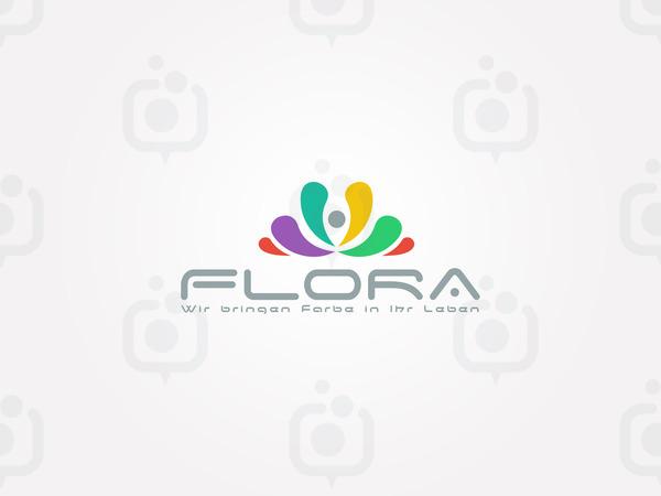 Flora logo  al  mas