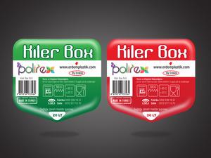 Polirex ürünlerimize sticker etiket çalışması projesini kazanan tasarım