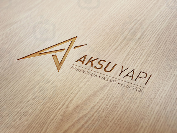 Logo ahsap mock up