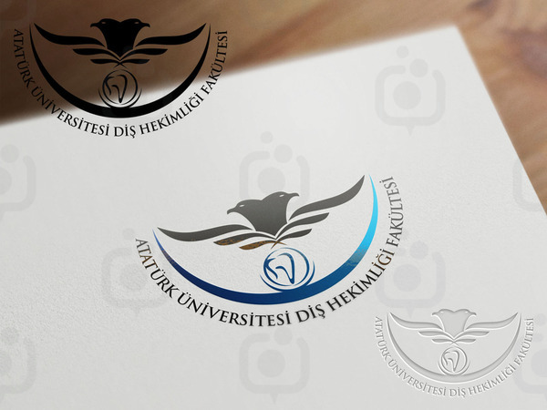 Atat rk  n versitesi di  hekimli i fak ltesi logo1