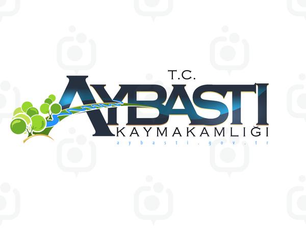 Aybasti kaymakamligi logo tasarimi6