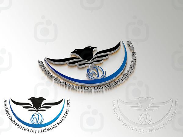 Atat rk  n versitesi di  hekimli i fak ltesi logo2