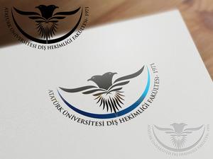 Atat rk  n versitesi di  hekimli i fak ltesi logo3