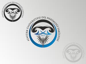 Atat rk  n versitesi di  hekimli i fak ltesi logo4