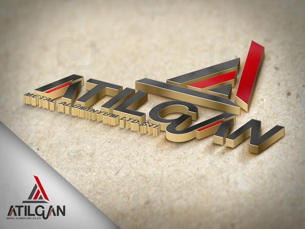 3d logo mockup a5
