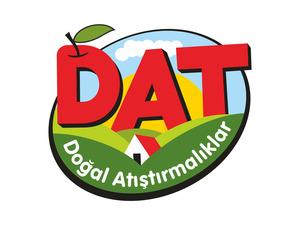 """""""DAT - Doğal Atıştırmalıklar"""" Logo Tasarımı projesini kazanan tasarım"""
