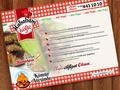 Proje#25243 - Restaurant / Bar / Cafe Menü Tasarımı  -thumbnail #33