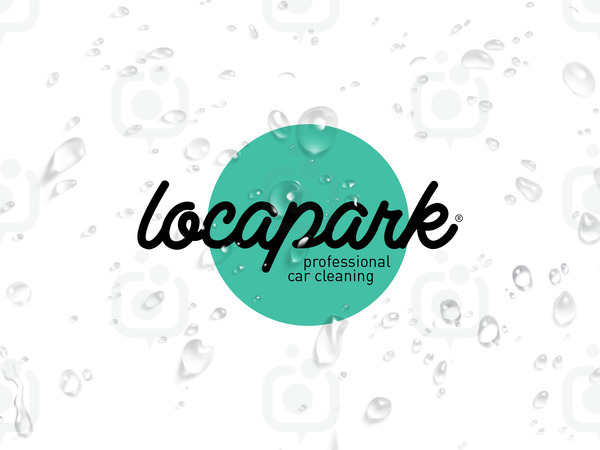 Locapark logotype wash