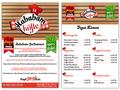 Proje#25243 - Restaurant / Bar / Cafe Menü Tasarımı  -thumbnail #41