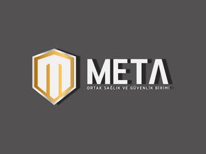 Meta logo 3d