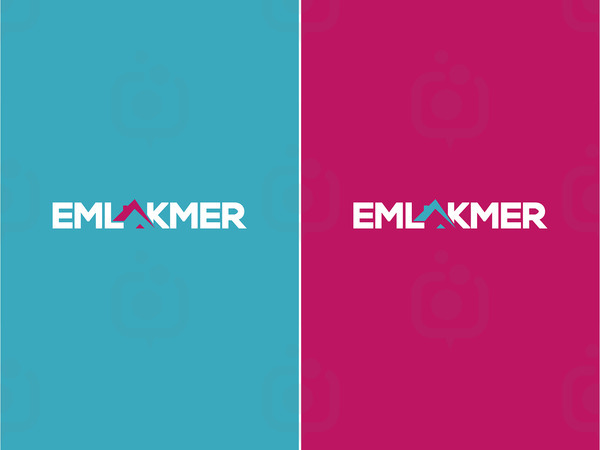 Emlakmer logotype 2in1