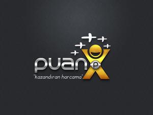 Puanx adlı projemize logo projesini kazanan tasarım