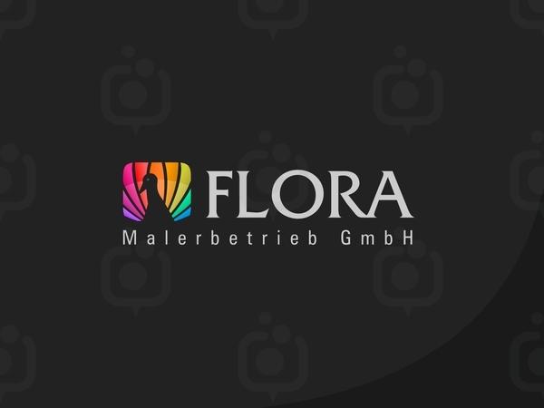 Flora logo 4 7 4