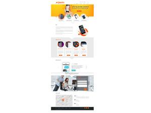 Proje#26226 - Bilişim / Yazılım / Teknoloji Web sitesi tasarımı (psd)  #87