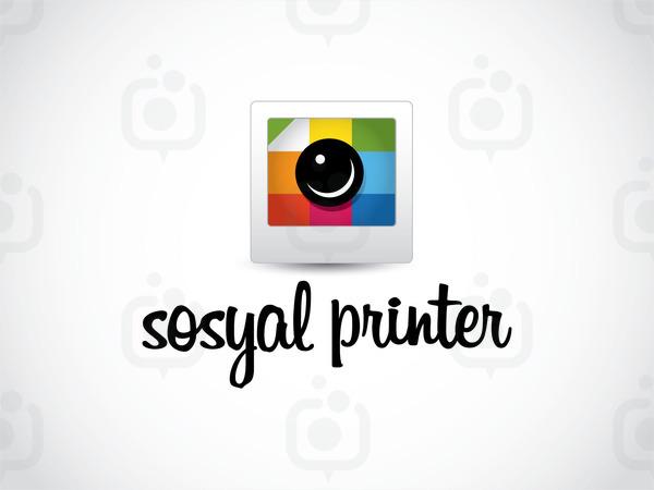 Sosyal printer logo yeni01